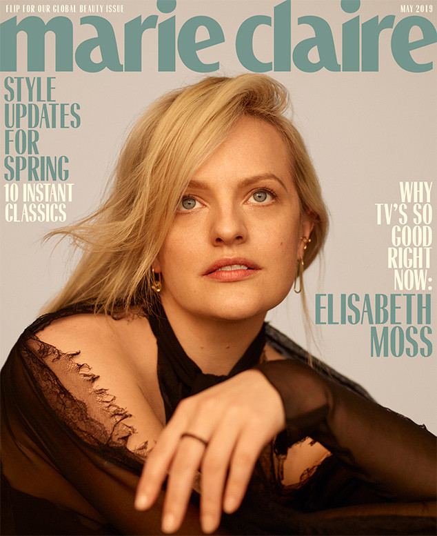 Elisabeth Moss, Marie Claire, May 2019