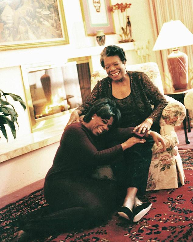 Oprah Winfrey, Maya Angelou