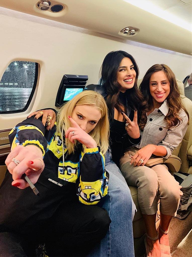 Priyanka Chopra, Sophie Turner, Danielle Jonas, Instagram