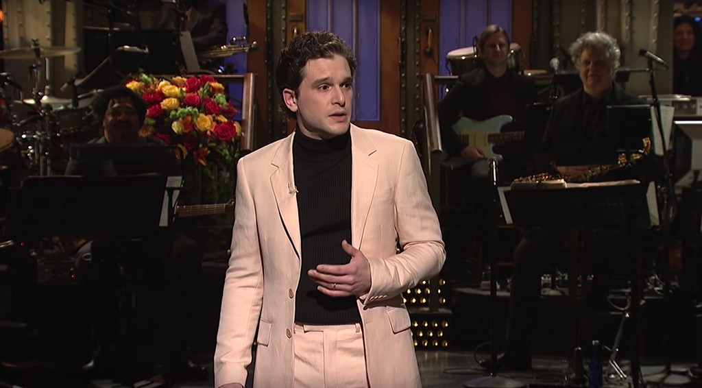 Kit Harington's Game of Thrones Co-Stars Crash His SNL Monologue