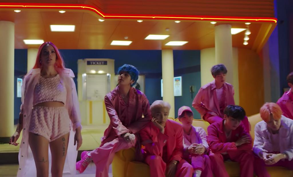 BTS, Bangtan Boys, Halsey