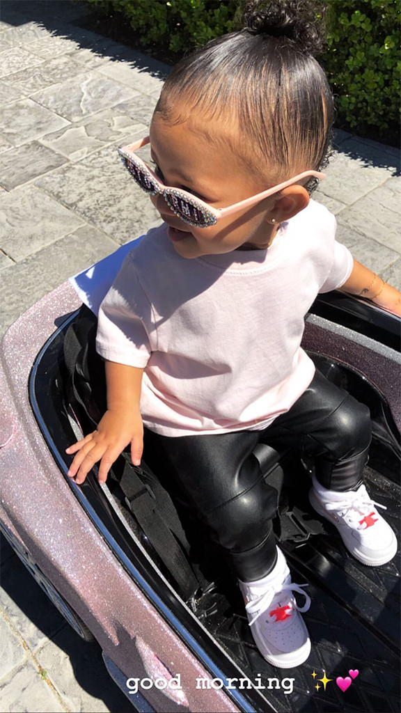 Kylie Jenner S Daughter Stormi Webster Rides In Style And