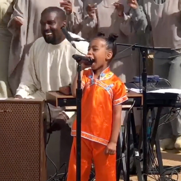 North West, Kanye West, Sunday Service