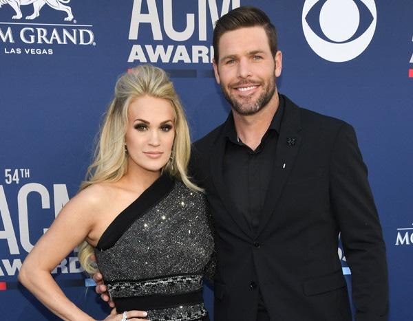 Carrie Underwood Arrives At Acm Awards 2 Months After