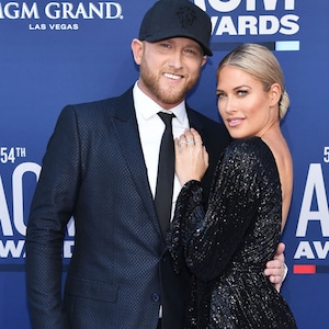 Cole Swindell, Barbie Blank, Academy Of Country Music Awards arrivals 2019