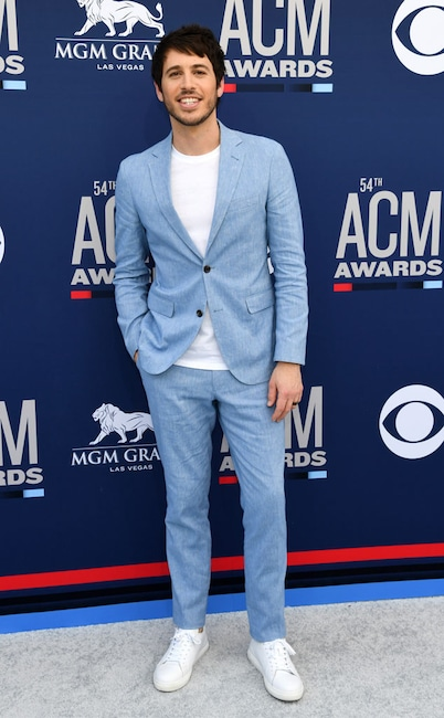 Morgan Evans, Academy of Country Music Awards arrivals 2019