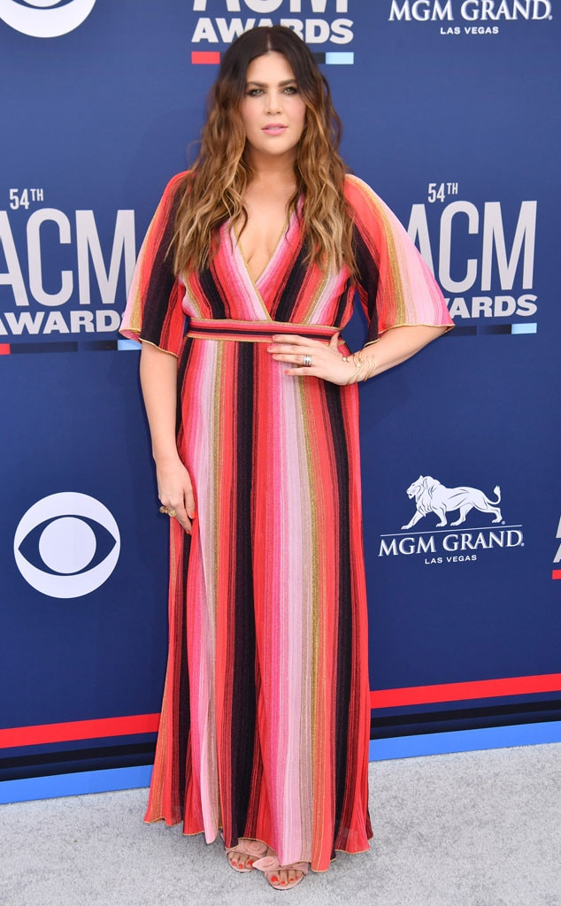 Hillary Scott -  In between her Las Vegas residency at the PALMS Casino Resort, the  co-lead singer of Lady Antebellum enjoys an evening out with the country music community.