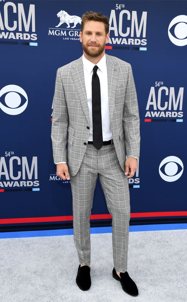 "Chase Rice -  Just one day after performing at the Coastal Country Jam in Huntington Beach, Calif., the ""Eyes on You"" singer dresses up in a handsome suit."