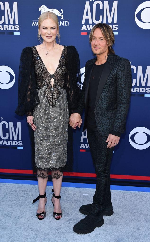 Nicole Kidman, Keith Urban Academy of Country Music Awards arrivals 2019