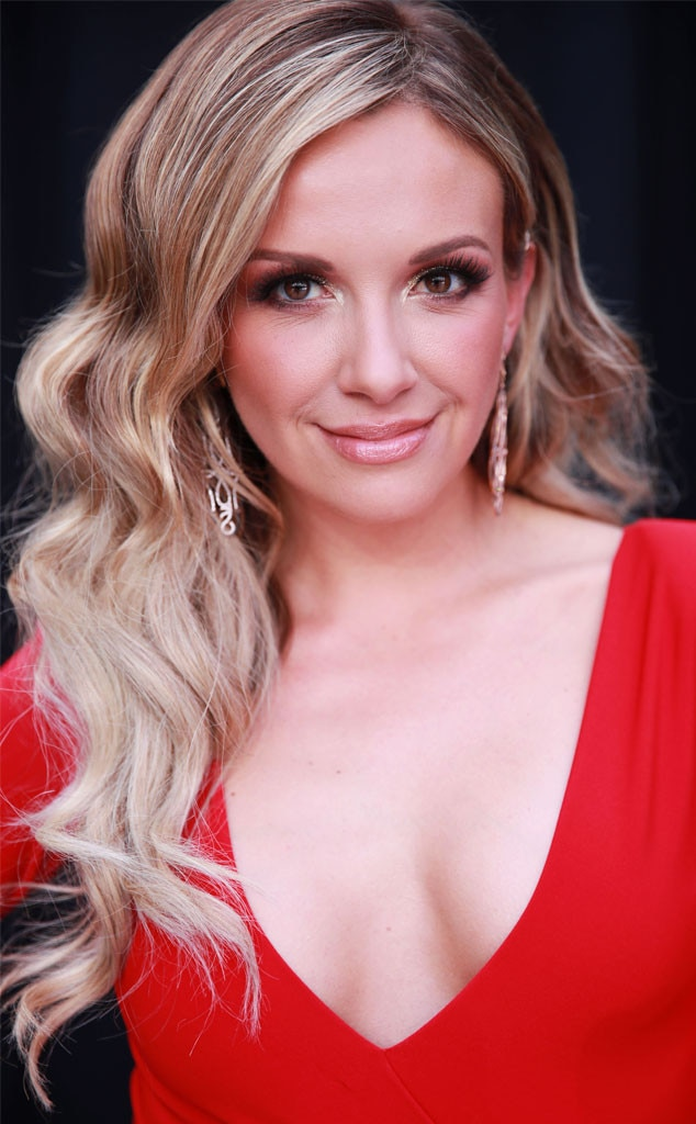 "Carly Pearce's Hair -  ""We went for a classic romantic wave and swept to the side look to complement her stunning neck line,"" hairstylist  Meg Boes  shared with E! News."