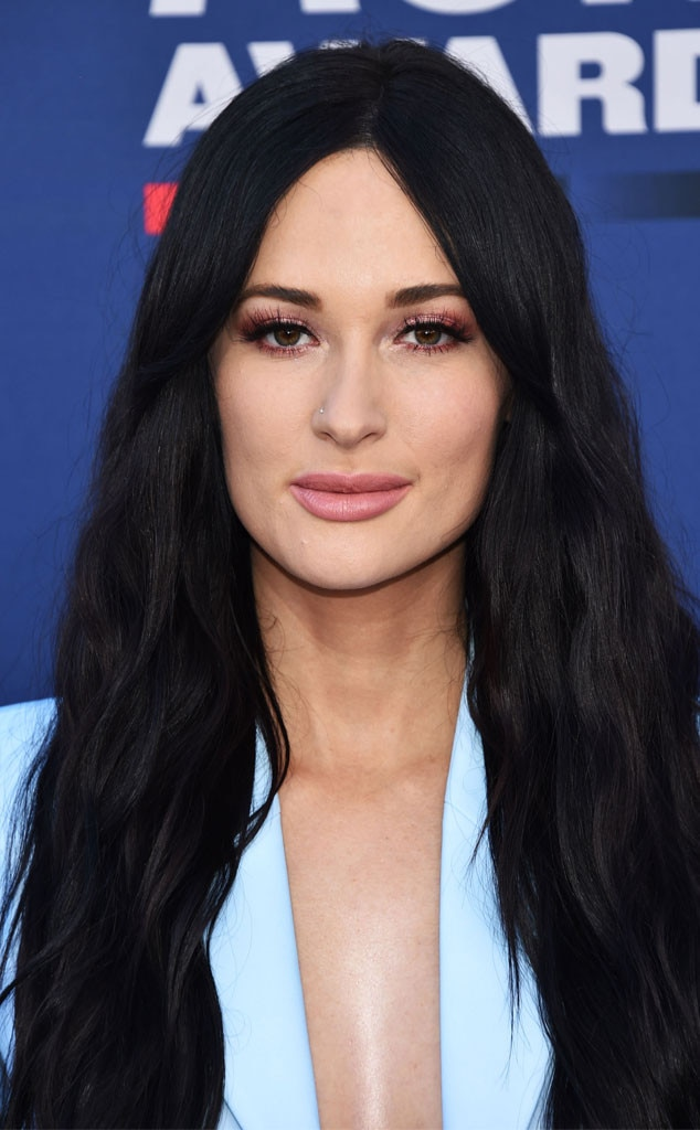 Kacey Musgraves' Hair & Makeup -  Yes, the Female Artist of the Year wowed with her red carpet outfit. But her makeup was equally impressive.