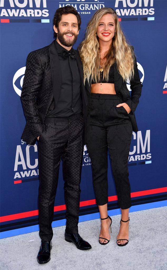 Thomas Rhett, Lauren Akins, Academy Of Country Music Awards 2019