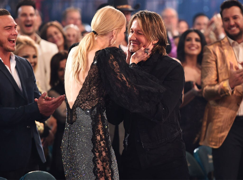 Nicole Kidman & Keith Urban -  The longtime couple was a vision of love at the awards.
