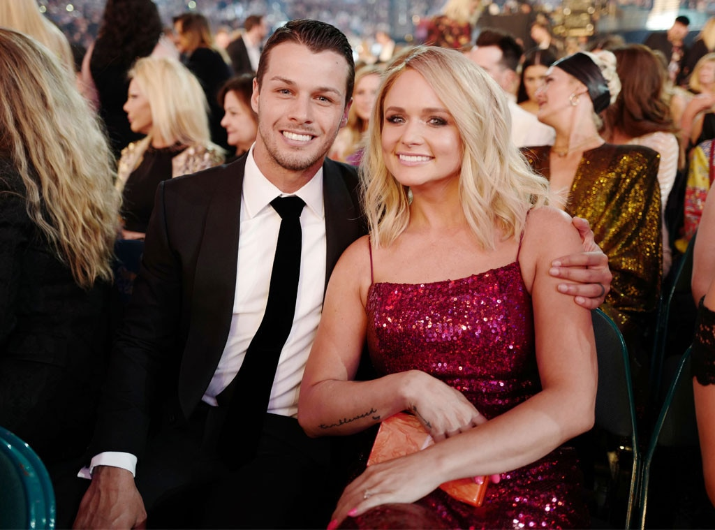 Brendan McLoughlin & Miranda Lambert -  The newlyweds looked picture perfect together at the event.