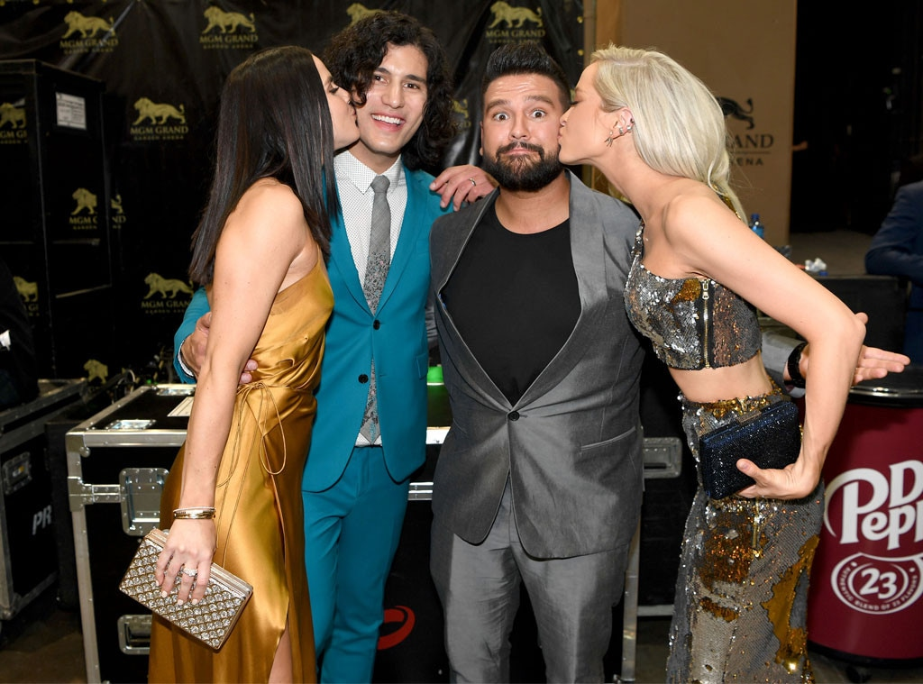 Abby Law, Dan Smyers, Shay Mooney, Hannah Billingsley, 2019 Academy of Country Music Awards, ACM Awards, Candids