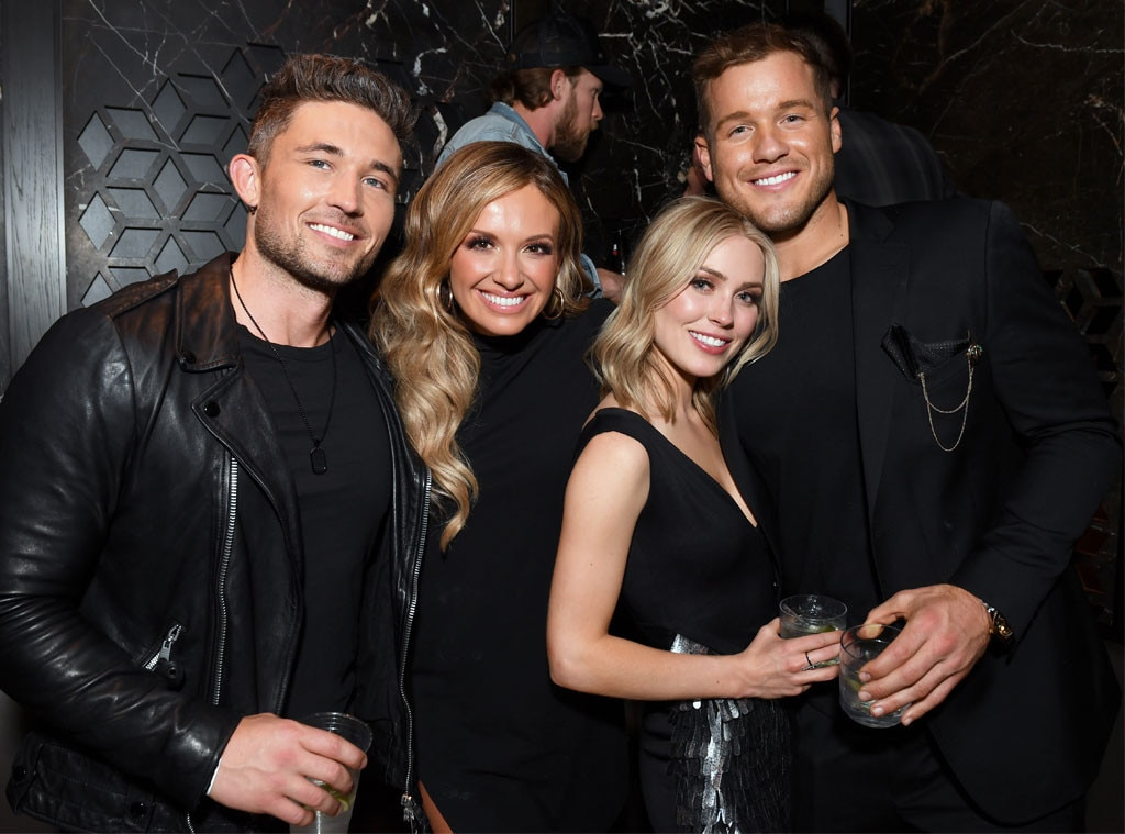 Michael Ray, Carly Pearce, Cassie Randolph & Colton Underwood -  The  Bachelor  couple stepped out to celebrate the night at Big Machine Label Group's after-party.