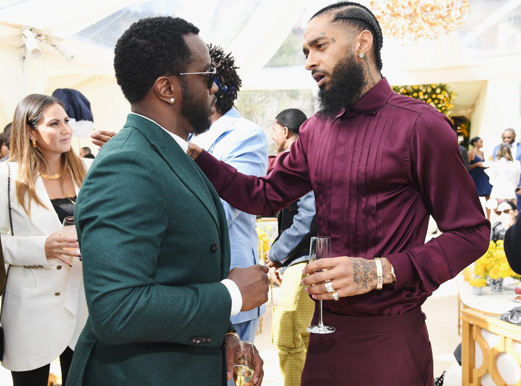 Sean Combs, Diddy, Nipsey Hussle