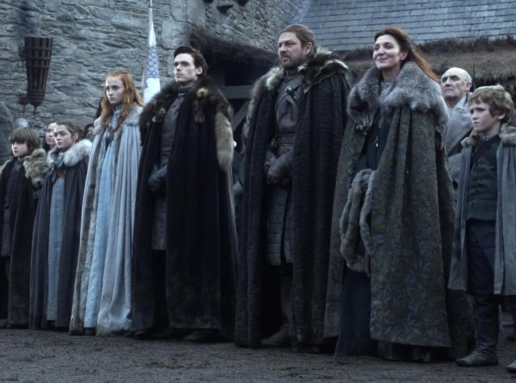 Game of Thrones Stark Family
