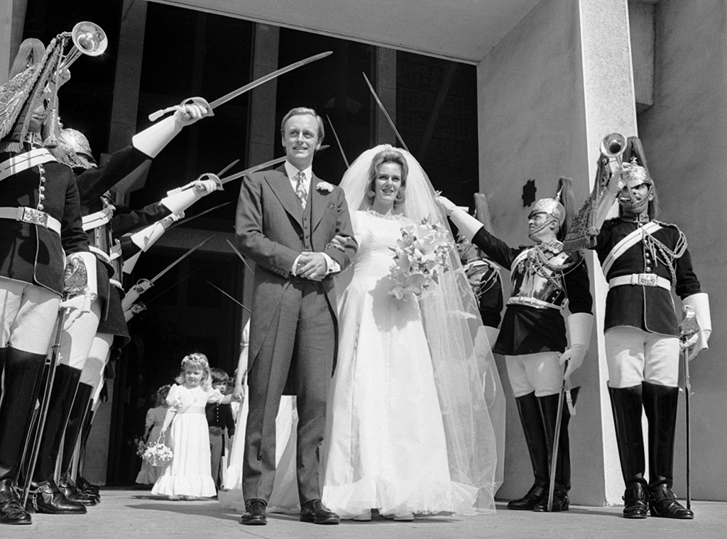 Camilla Shand, Andrew Parker-Bowles, wedding