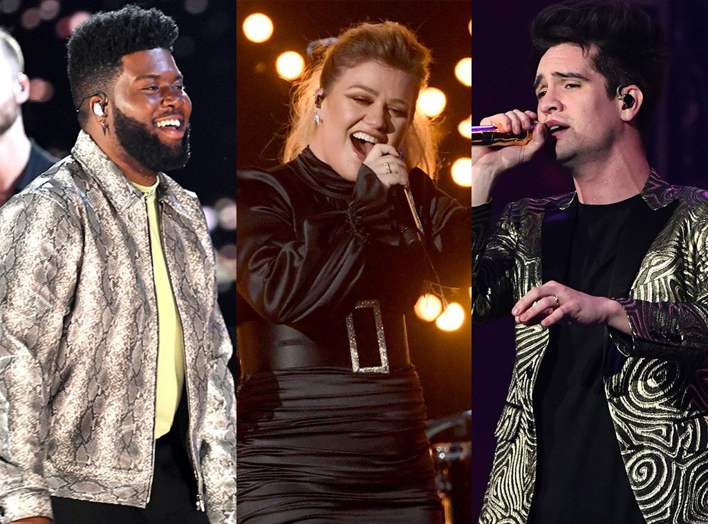 Khalid, Kelly Clarkson, Panic! At The Disco