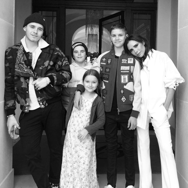 Victoria Beckham, Brooklyn Beckham, Romeo Beckham, Cruz Beckham, Harper Beckham, Beckham Family