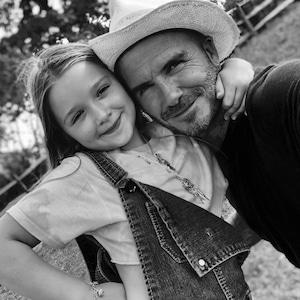 David Beckham, Harper Beckham, Beckham Family