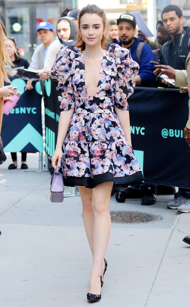 Lily Collins -  Spring ready!