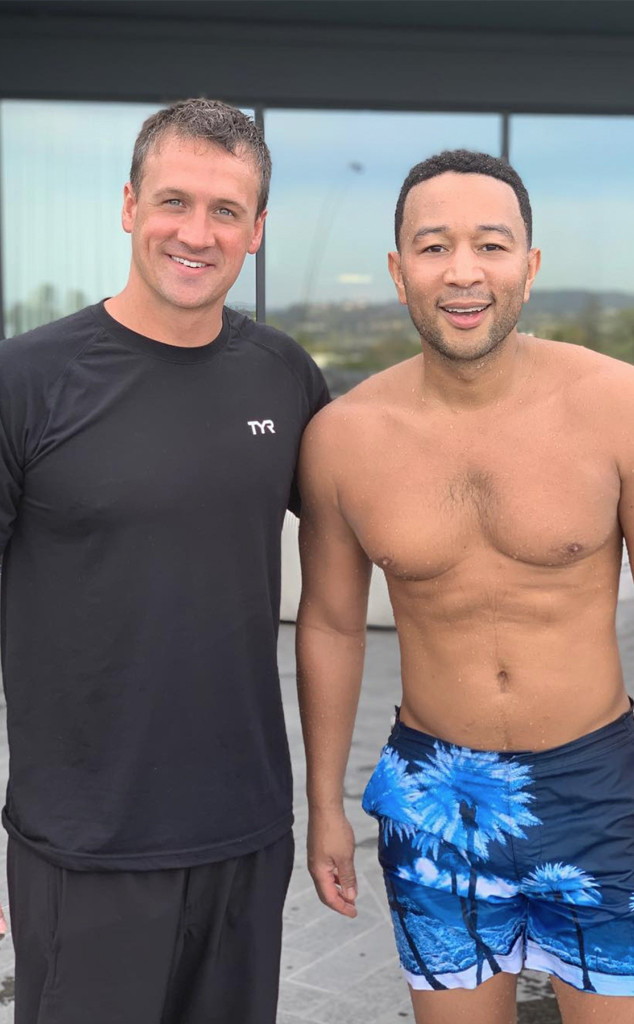 Ryan Lochte, John Legend