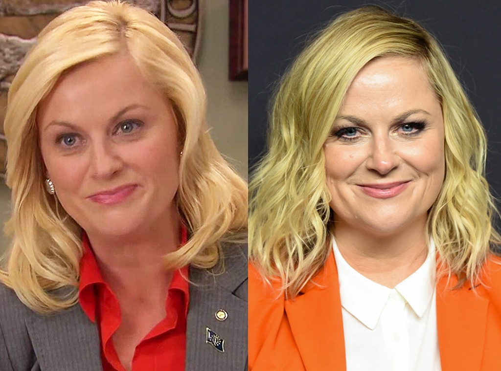 Amy Poehler -  The star who broughtLeslie Knope to life has gone on to other film and TV roles as well as host the reality competition show, Making It , with her former co-star, Nick Offerman .