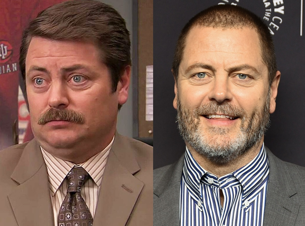 Nick Offerman -  The man behind the iconic Ron Swanson continues to pop up on the big and small screen.