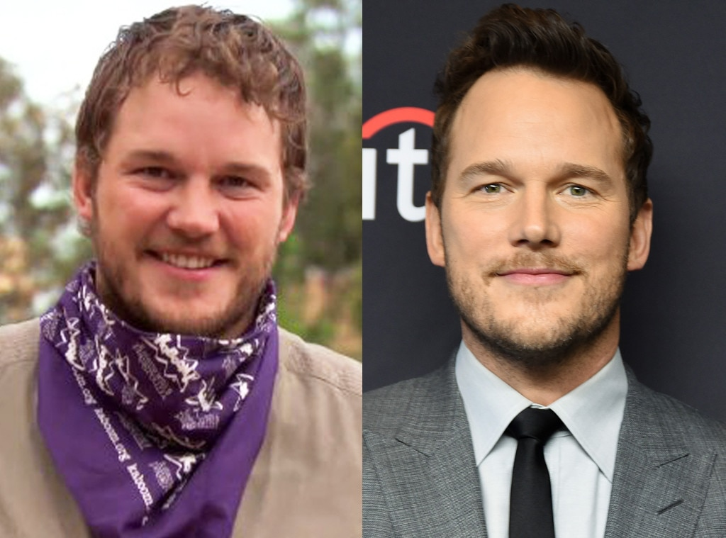 Chris Pratt -  After he was Andy Dwyer, Pratt became an action star with lead roles in the  Jurassic World  and  Guardians of the Galaxy  franchises.