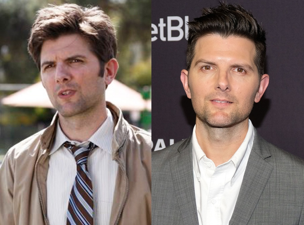 Adam Scott -  The actor behind Ben Wyatt has since taken a dramatic turn with a role on  Big Little Lies .