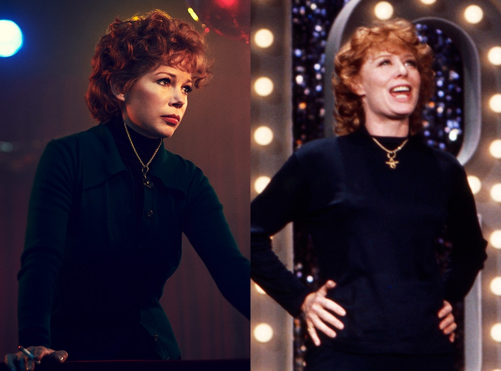 Gwen Verdon -  Oscar nominee Michelle Williams is playing Gwen Verdon, one half of the titular couple the FX drama is chronicling.