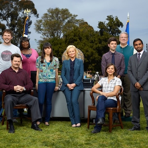 Parks and Recreation cast then and now