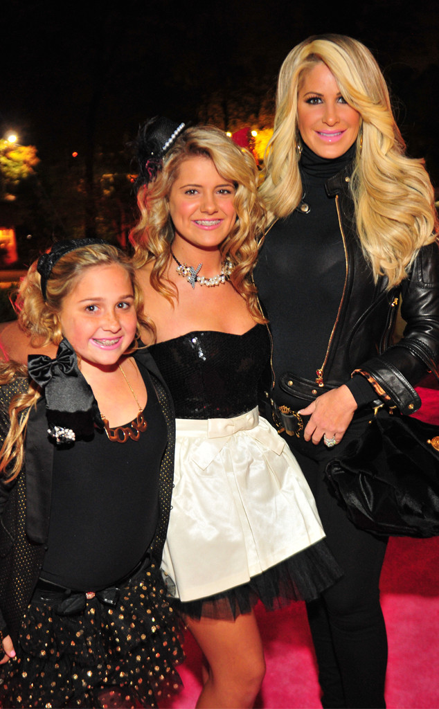 Kim Zolciak-Biermann, Brielle Biermann, Ariana Biermann