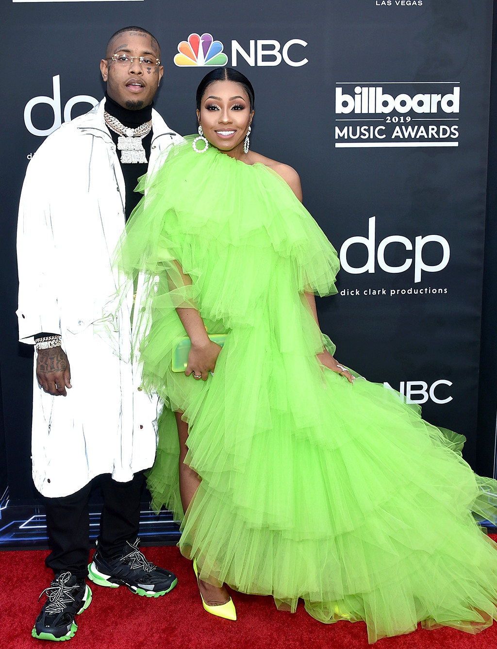 Southside, Yung Miami, 2019 Billboard Music Awards, Billboard Music Awards, Couples, Arrivals