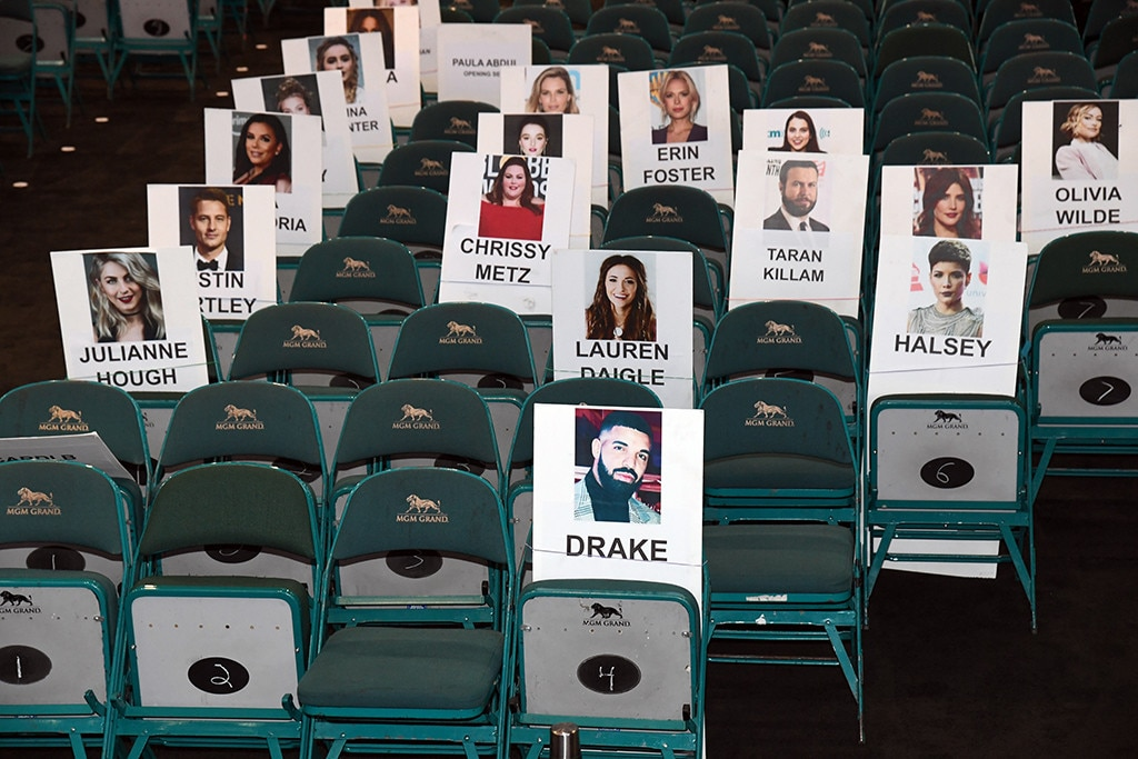 """Drake & Halsey -  Though Cardi leads the pack with 22 nominations,  Drake  is not far behind with 17 opportunities tosnag an award. He'll befront and center at the show withthe """"Bad at Love"""" singerand  Julianne Hough  close by."""
