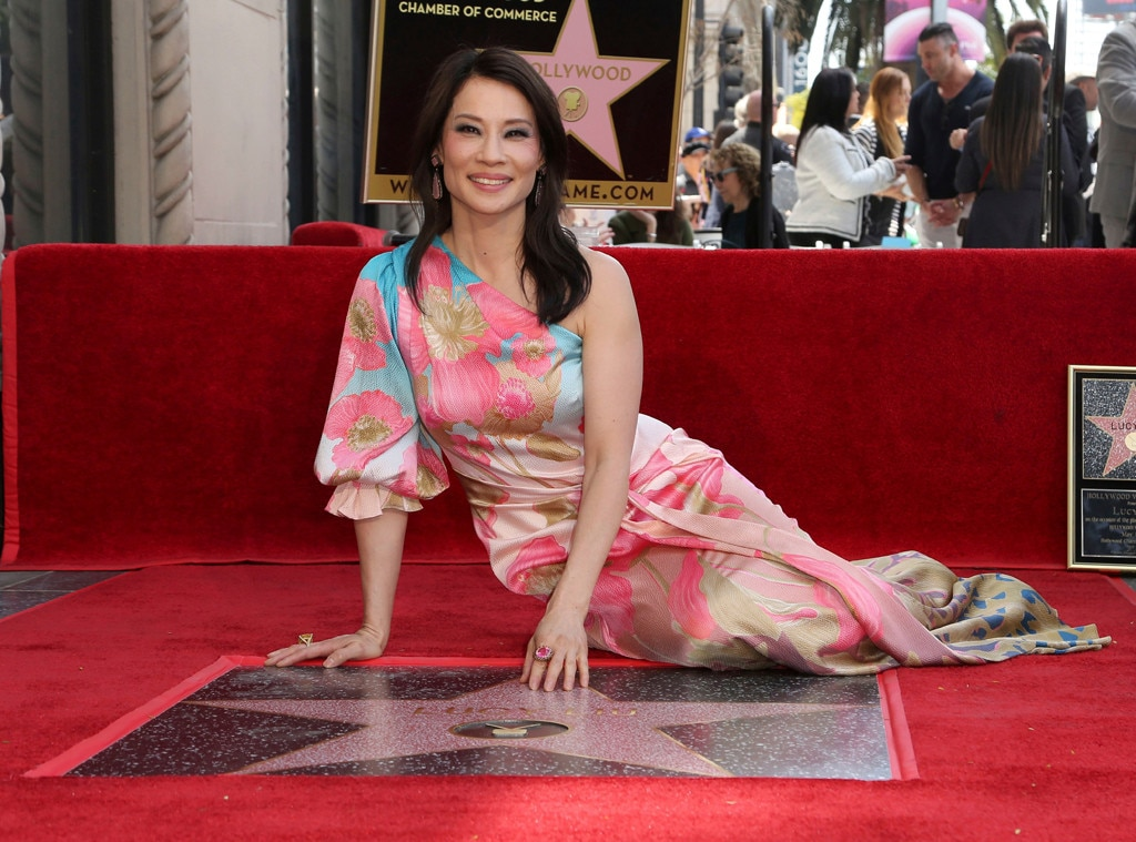Lucy Liu -  The actress and director, who is known for  Charlie's Angels ,  Kill Bill  and  Ally McBeal , is honored with her very own star on the Hollywood Walk of Fame in May 2019.