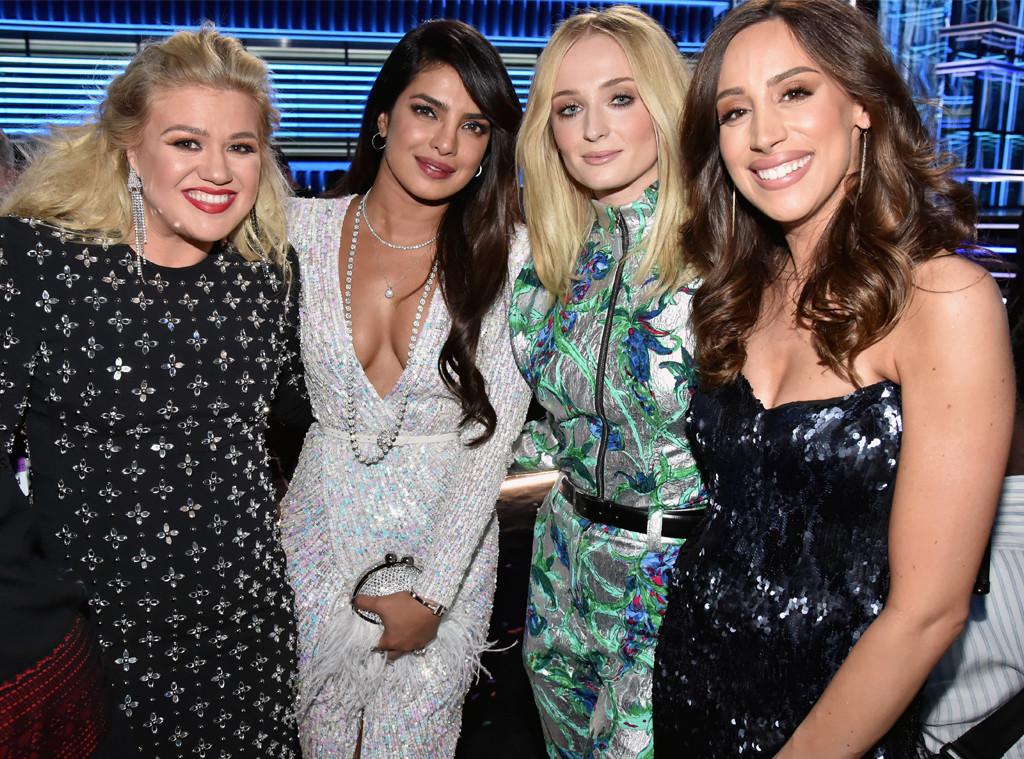 Kelly Clarkson, Priyanka Chopra, Sophie Turner, Danielle Jonas, 2019 Billboard Music Awards