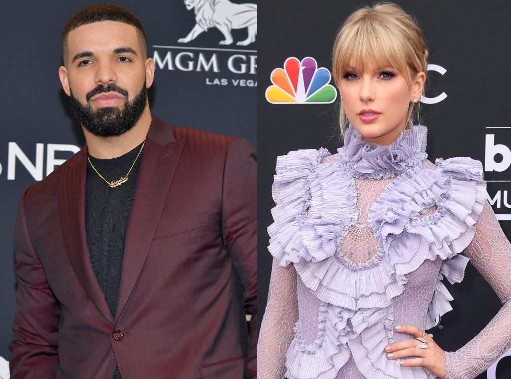Drake, Taylor Swift, 2019 Billboard Music Awards