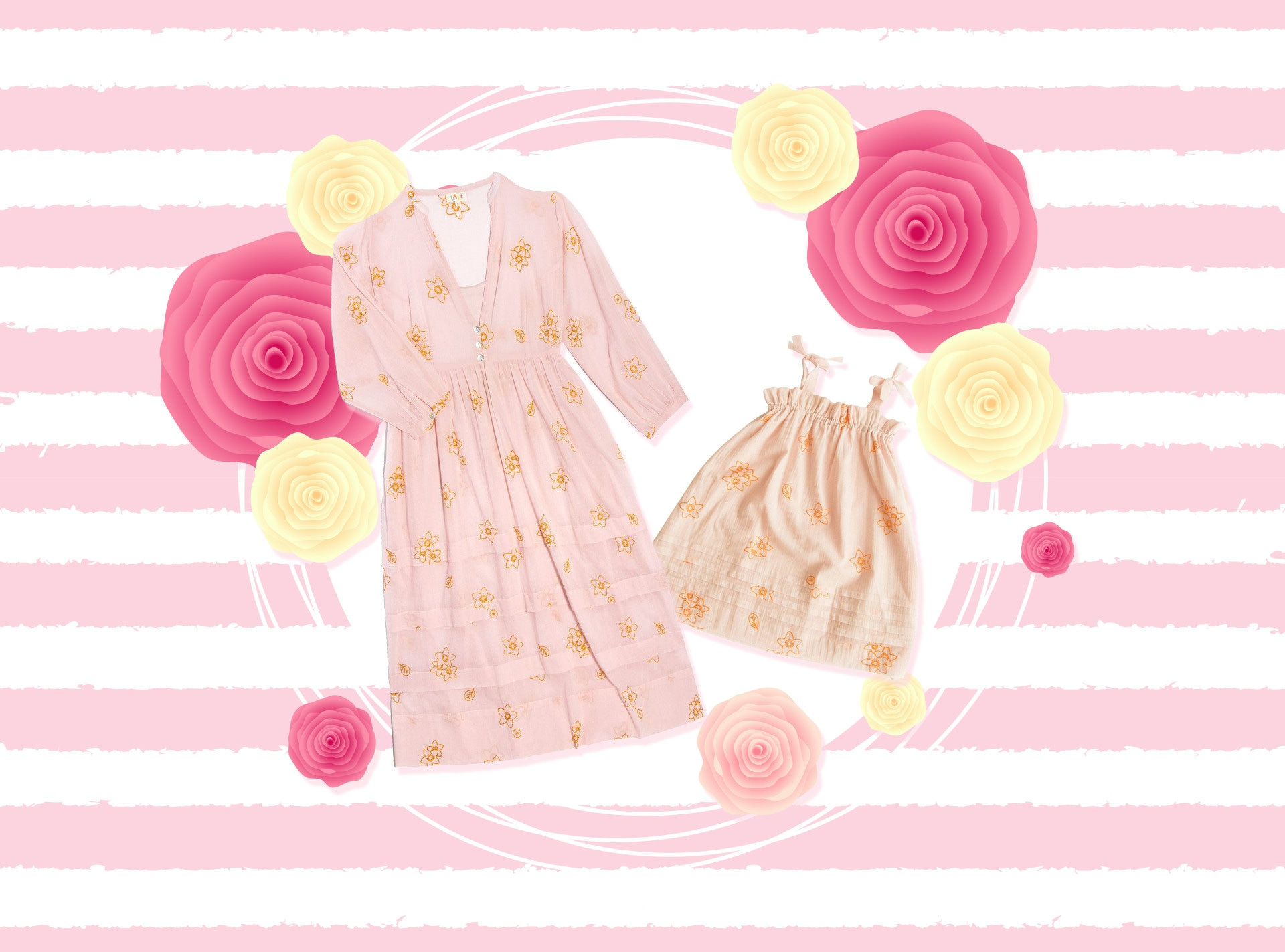 E-Comm: Mommy and Me Matching Sets