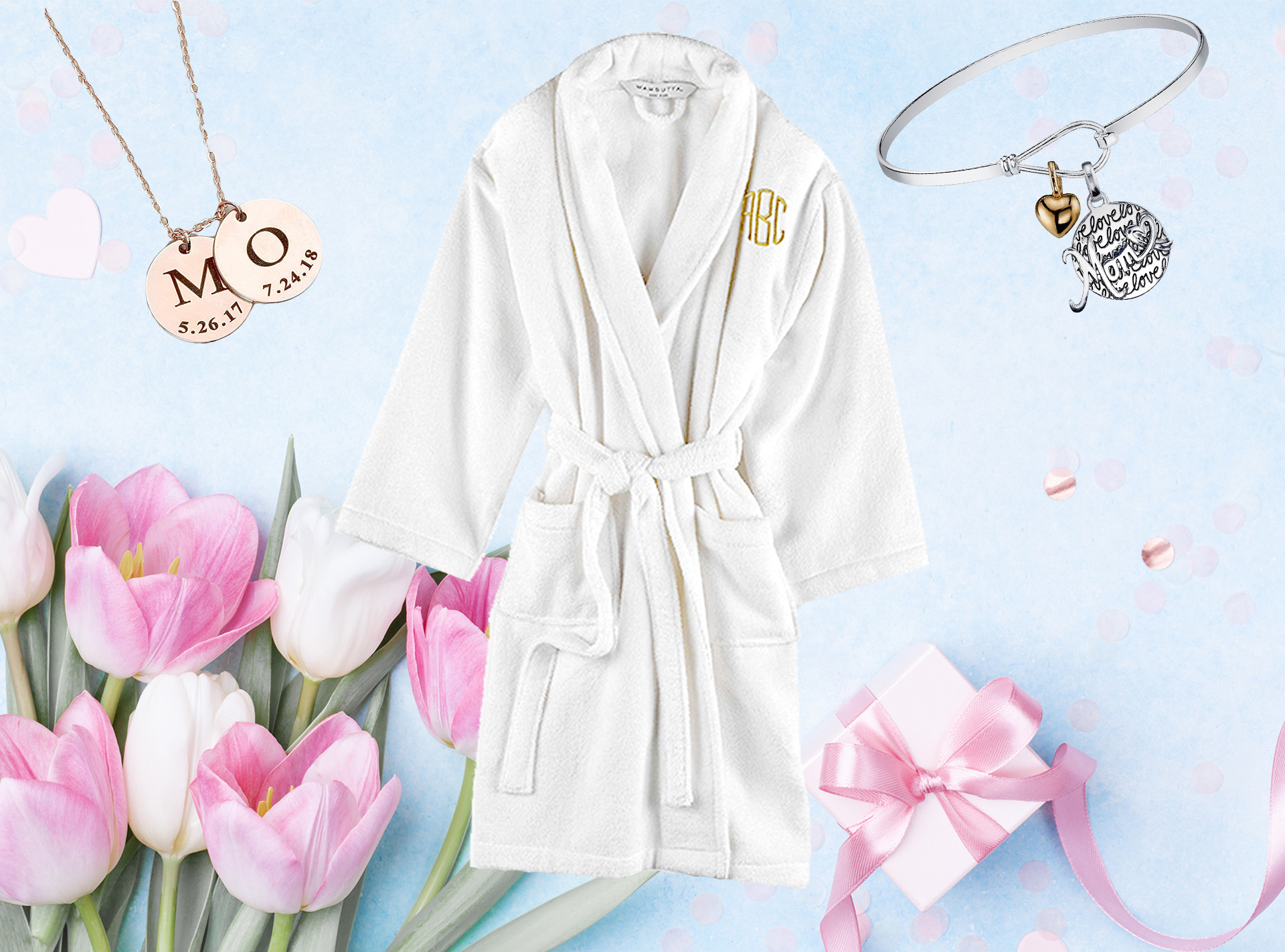 E-Comm: Personalized Mother's Day Gifts