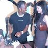 Kylie Jenner, Travis Scott, Cake, Travis Scott Birthday Celebration
