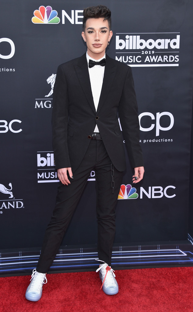James Charles, 2019 Billboard Music Award, Red Carpet Fashions