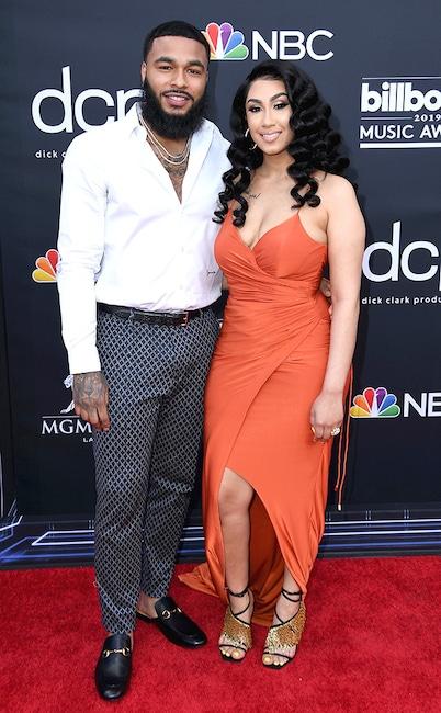 Clarence White, Queen Naija, 2019 Billboard Music Awards, Billboard Music Awards, Couples, Arrivals