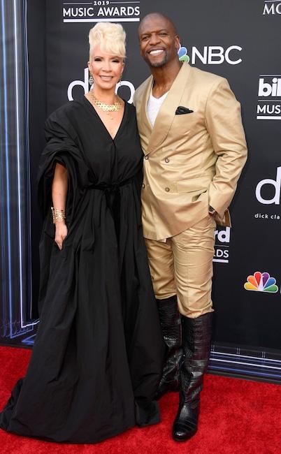 Terry Crews, Rebecca King-Crews, 2019 Billboard Music Awards, Couples, Arrivals