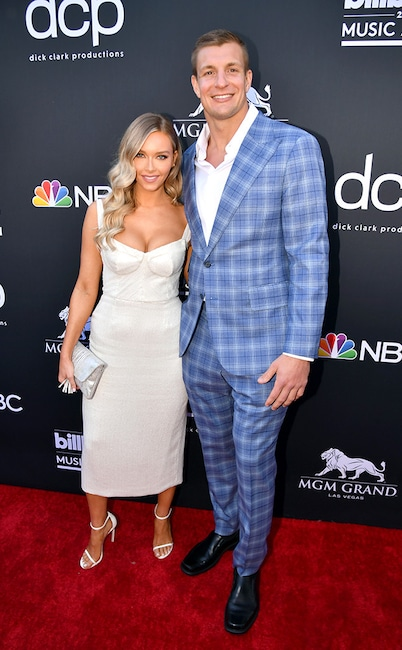Camille Kostek, Rob Gronkowski, 2019 Billboard Music Awards, Billboard Music Awards, Couples, Arrivals