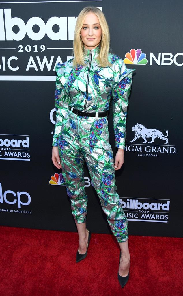 Sophie Turner, 2019 Billboard Music Award, Red Carpet Fashions
