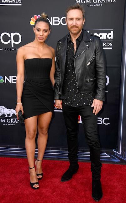 David Guetta, Jessica Ledon, 2019 Billboard Music Awards, Couples, Arrivals