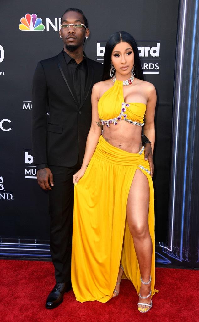 Cardi B, Offset, 2019 Billboard Music Awards, Couples, Arrivals